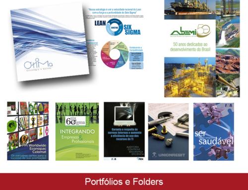 Portfólios e Folders