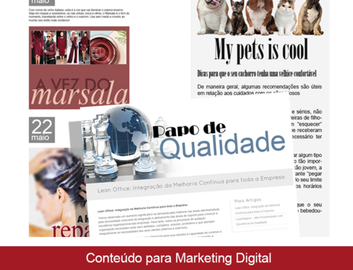 Conteúdo para Marketing Digital