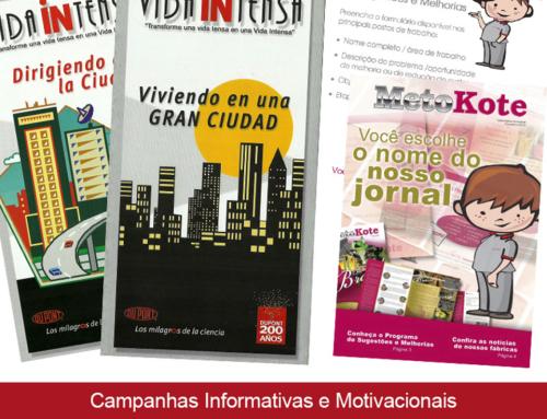 Campanhas Informativas e Motivacionais